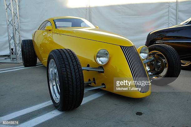 Custom car on display at the benefit grand opening of celebrity vehicle customization shop Galpin Auto Sports on October 18 2008 in Van Nuys...
