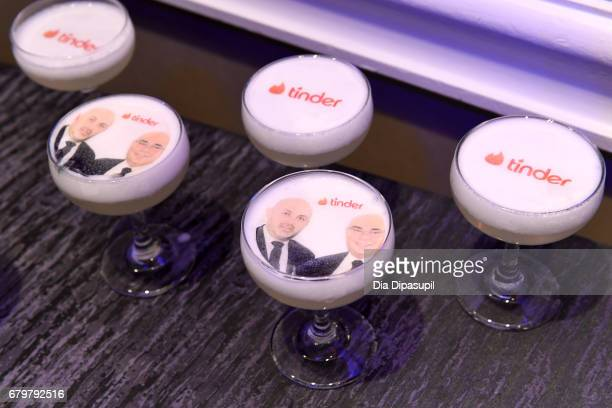 Custom cocktails by Tinder at the 28th Annual GLAAD Media Awards at The Hilton Midtown on May 6 2017 in New York City