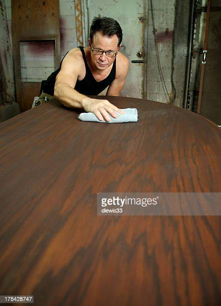 Custom Furniture Maker at Work
