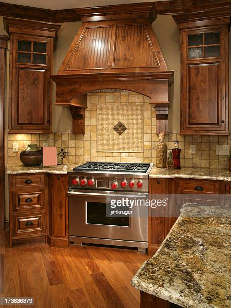 Custom home kitchen.