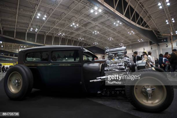A custom hot rod car is shown during the 26th Annual Yokohama Hot Ror Custom Show 2017 December 3 2017 in Yokohama Japan For the past couple of...