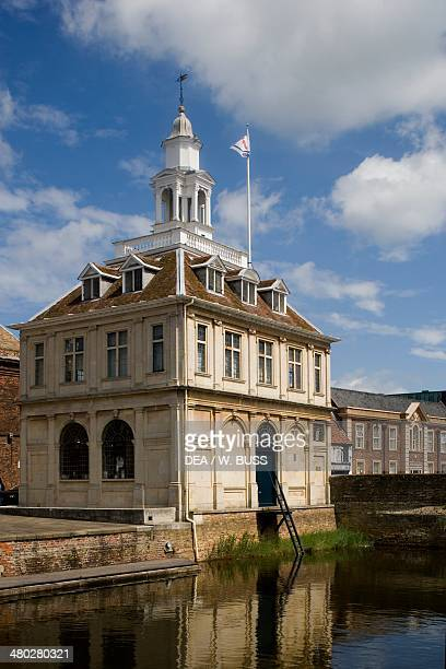 Custom house architect Henry Bell Purfleet Quay King's Lynn Norfolk United Kingdom