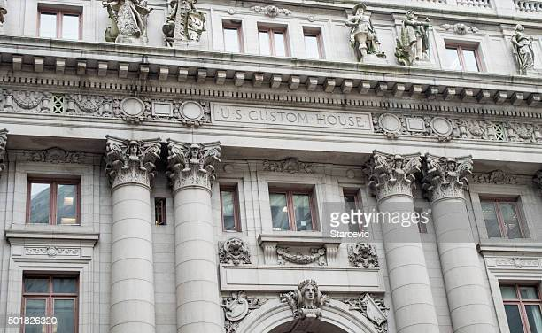 US Custom House on Wall Street - New York City