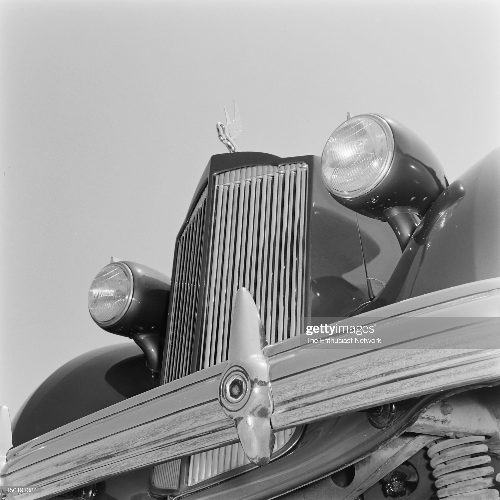 1937 Custom Made Packard - Jeanette MacDonald : News Photo