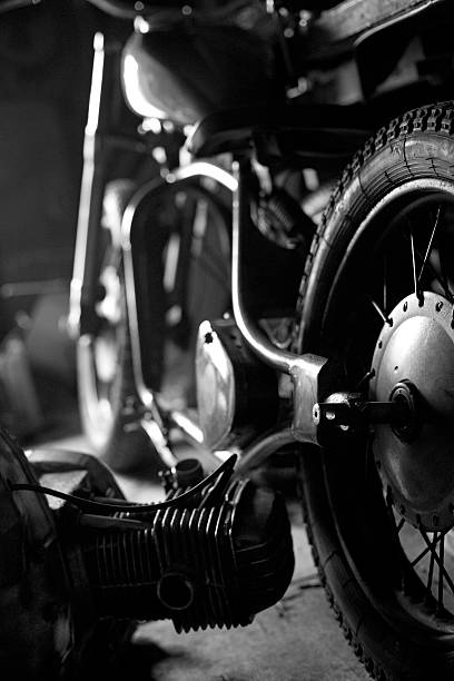 Custom Motorcycle Wall Art