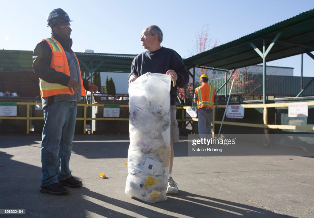 Chinese Company To Stop Taking Recyclables From Oregon Because Too Much Trash Mixed In : News Photo