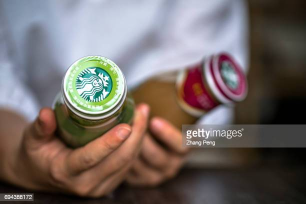 Customer chooses different tastes of Starbucks bottled Frappuccino In the first quarter of 2017 targeting to the Chinese consumers Starbucks...