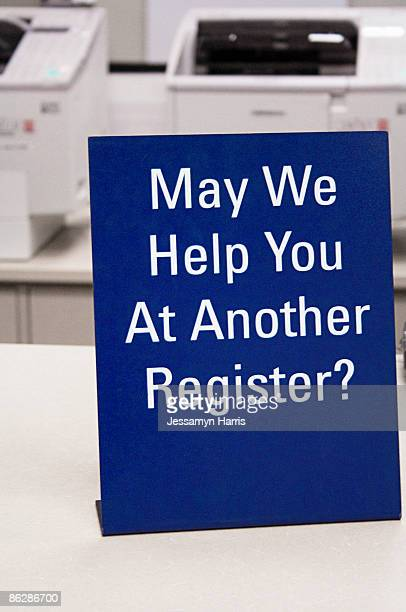 customer courtesy sign - jessamyn harris stock pictures, royalty-free photos & images