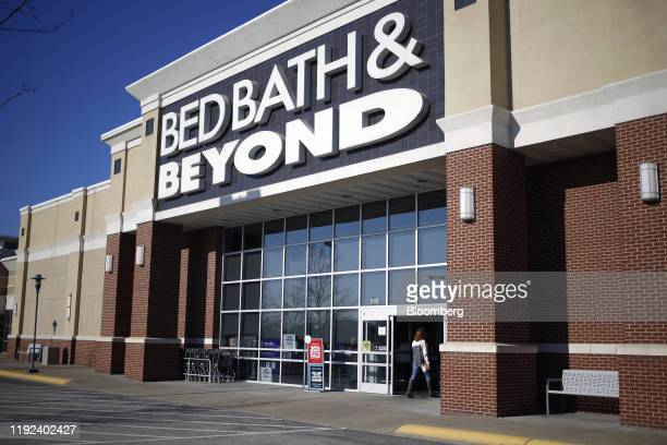 Customer enters a Bed Bath & Beyond Inc. Store in Clarksville, Indiana, U.S., on Sunday, Jan. 5, 2020. Bed Bath & Beyond Inc. Is scheduled to release...