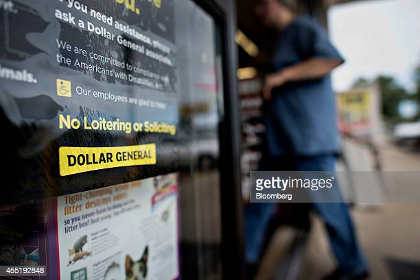 A customer enters a Dollar General Corp store in Colona Illinois US on Wednesday Sept 10 2014 Dollar General Corp spurned twice in attempts to buy...