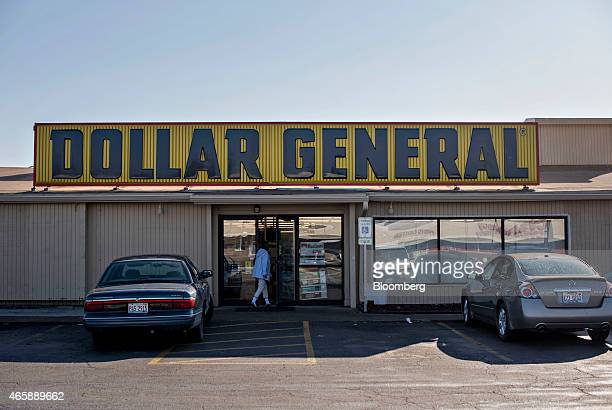 A customer enters a Dollar General Corp store in Milan Illinois US on Wednesday March 11 2015 Dollar General Corp is scheduled to release earnings on...