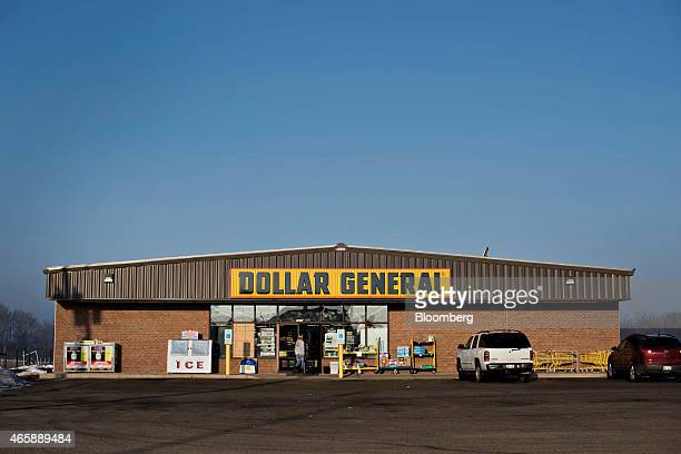 A customer enters a Dollar General Corp store in Princeton Illinois US on Wednesday March 11 2015 Dollar General Corp is scheduled to release...