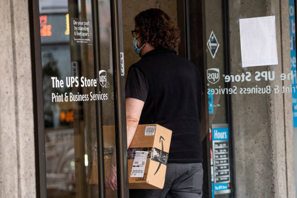 CA: UPS Deliveries Ahead Of Earnings Figures