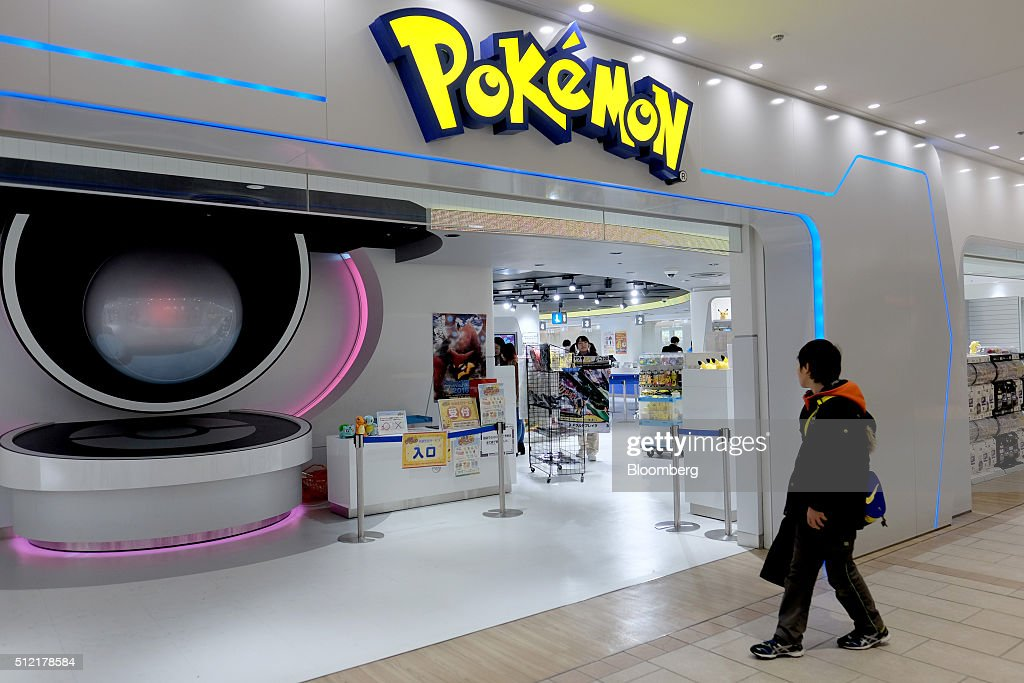 A Customer Enters The Pokemon Center Mega Tokyo Store In Japan On Wednesday