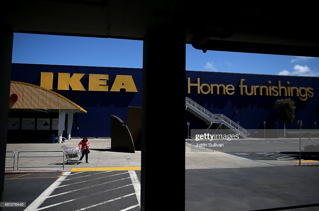 A Customer Leaves An IKEA Store On June 26 2014 In Emeryville California  Swedish Furniture Retailer