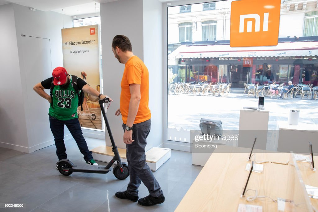 Inside Xiaomi Corp.'s First French Smartphone Store