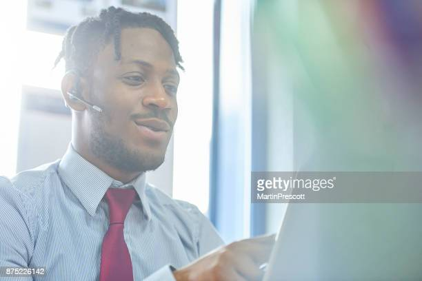Customer on the line