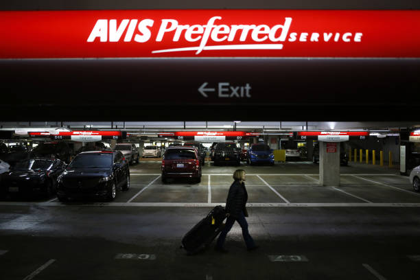 An Avis Budget Group Inc. Rental Location While Company