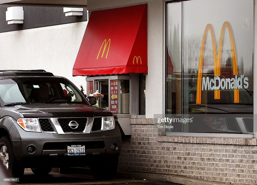 McDonalds Speeds Up Take Out Service : News Photo