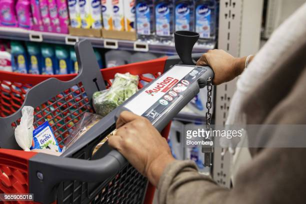Inside An Auchan Retail Sa Supermarket As French Grocery