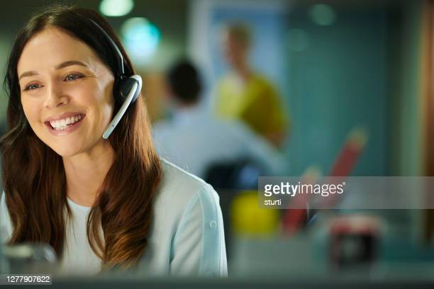 customer service representative - employee stock pictures, royalty-free photos & images