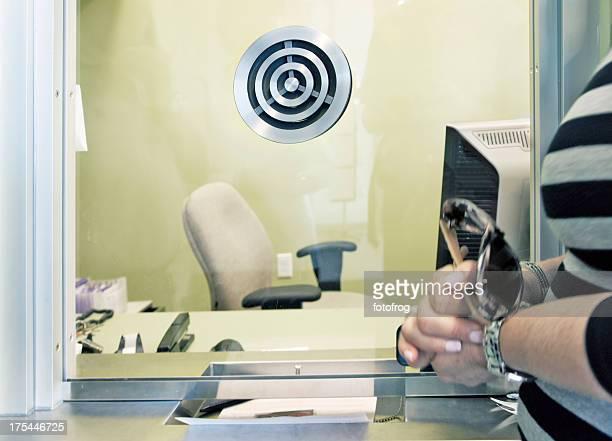 Customer service window