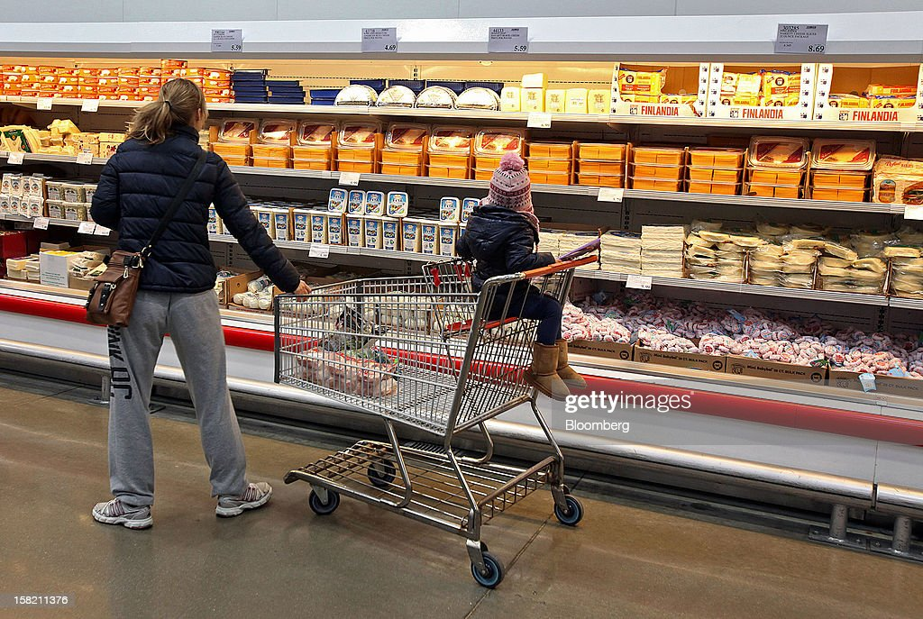 a customer shops for cheese at a costco wholesale corp store in mount prospect