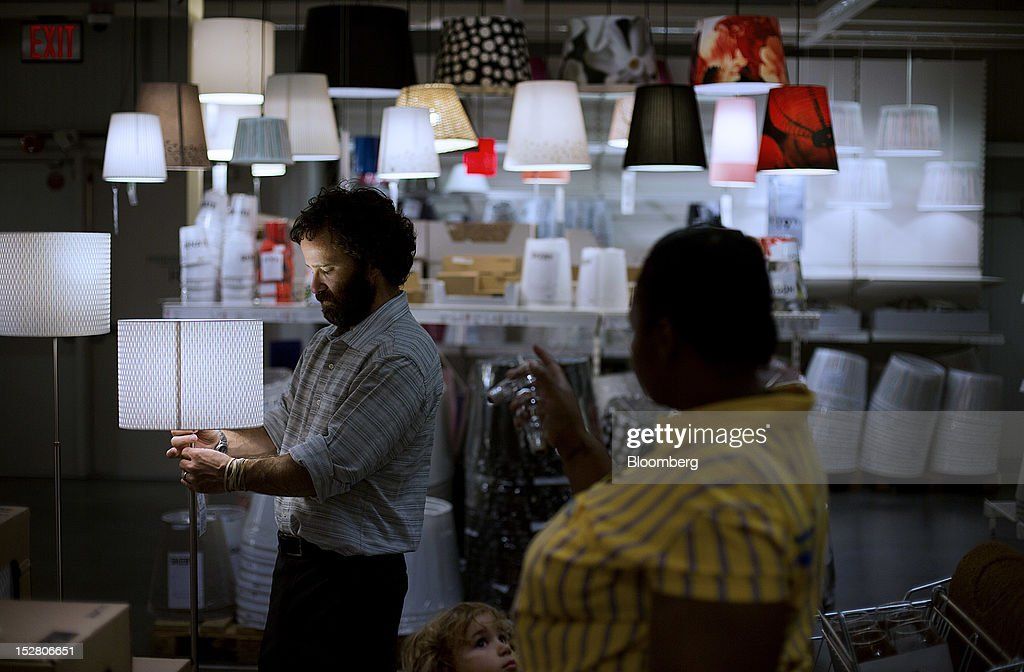 Inside an ikea store ahead of durable goods figures foton och