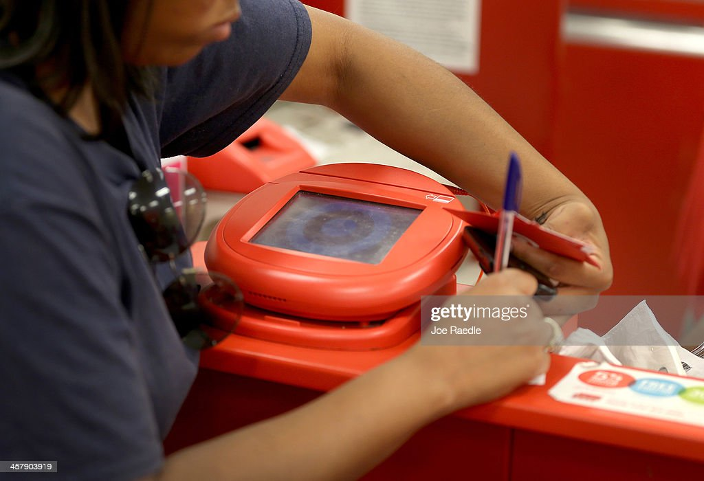 Hackers Grab 40 Million Accounts From Target Stores : News Photo