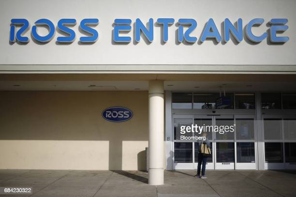 72d0405c2eb A customer stands in front of a Ross Stores Inc location in Lexington  Kentucky US on