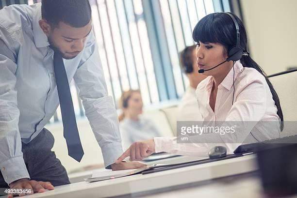 Customer support center