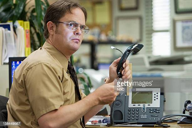 THE OFFICE Customer Survey Episode 6 Pictured Rainn Wilson as Dwight Schrute