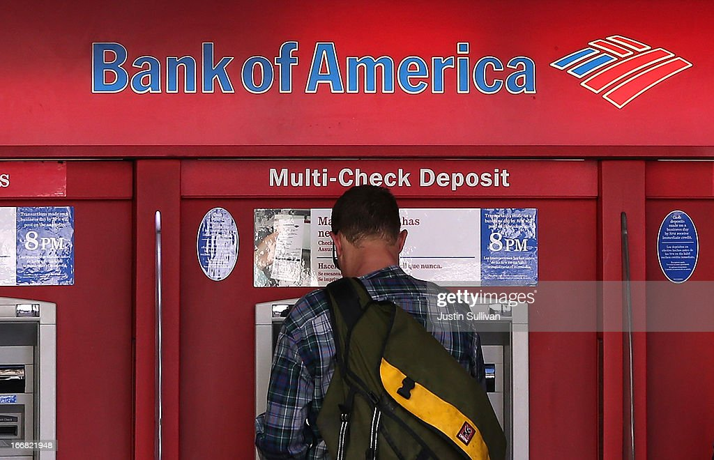 Bank Of America's First Quarter Profits Fail To Meet Analysts' Expectations : News Photo