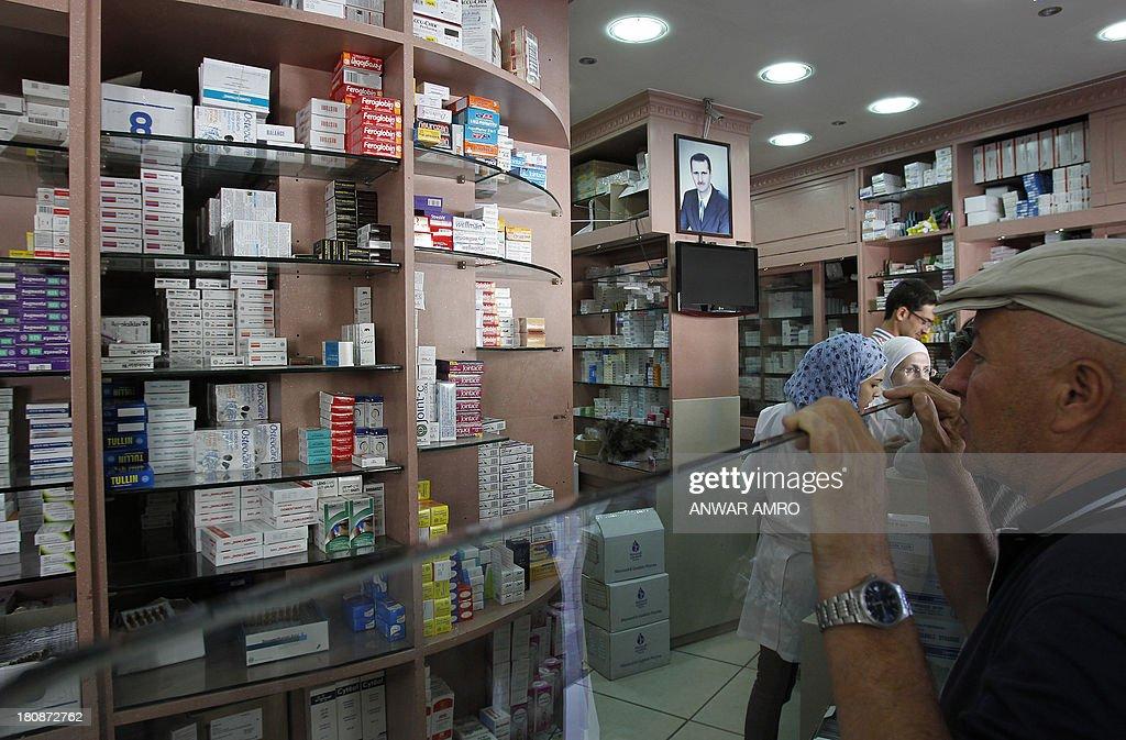 SYRIA-CONFLICT-HEALTH-MEDICINE : News Photo