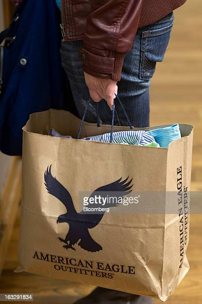 American Eagle Shopping Bag