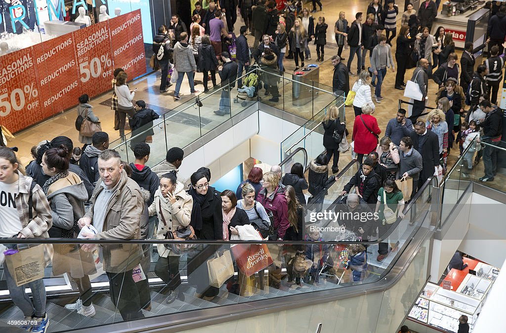 Shoppers Hunt For Sale Bargains : News Photo
