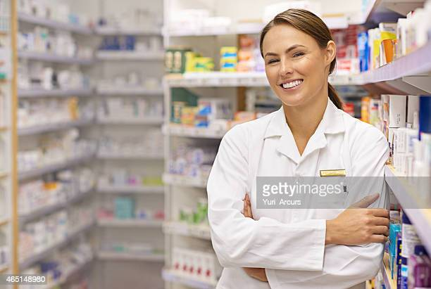 Customers are the best part of being a pharmacist