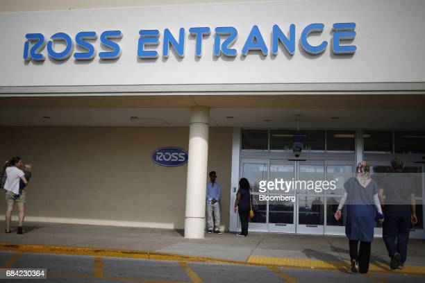 dccae5b06f9 Customers arrive at a Ross Stores Inc location in Lexington Kentucky US on  Monday May 15