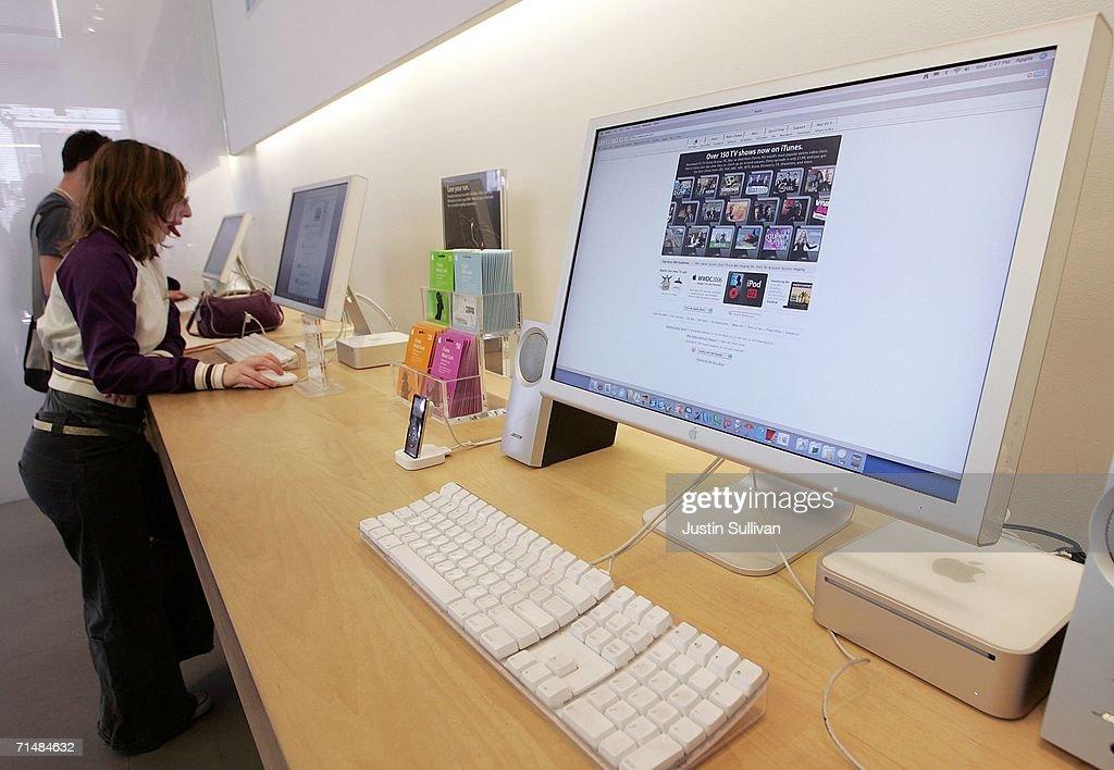Mac Sales Raise Apple Quarterly Earnings 48 Percent : ニュース写真