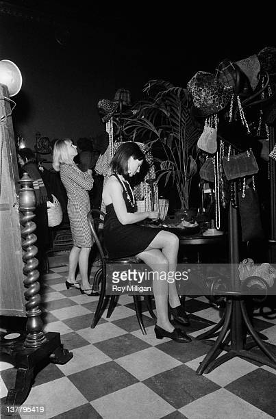 Customers at the fashionable Biba boutique in Abingdon Road Kensington London 4th March 1965