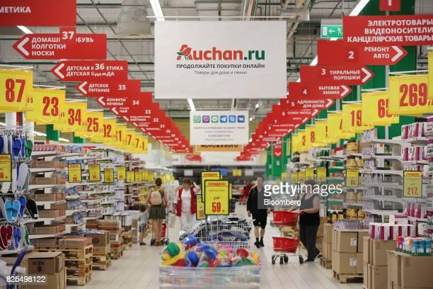 30 Top Food Retail At A Groupe Auchan Sa Supermarket