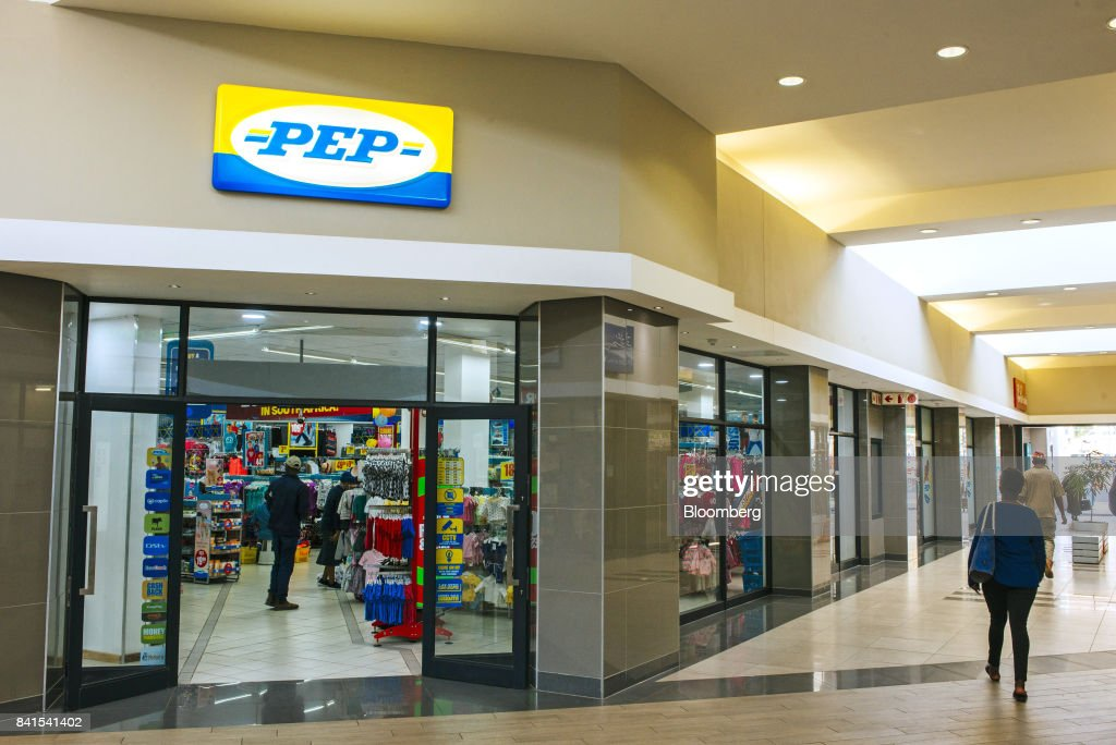 Customers browse goods inside a PEP retail store, operated by Pepkor Ltd., a unit of Steinhoff International Holdings NV, in Johannesburg, South Africa, on Thursday, Aug. 31, 2017. Steinhoff said like-for-like sales rose 8 percent as the South African furniture and clothing retailer achieved gains in its core European and African markets. Photographer: Waldo Swiegers/Bloomberg via Getty Images
