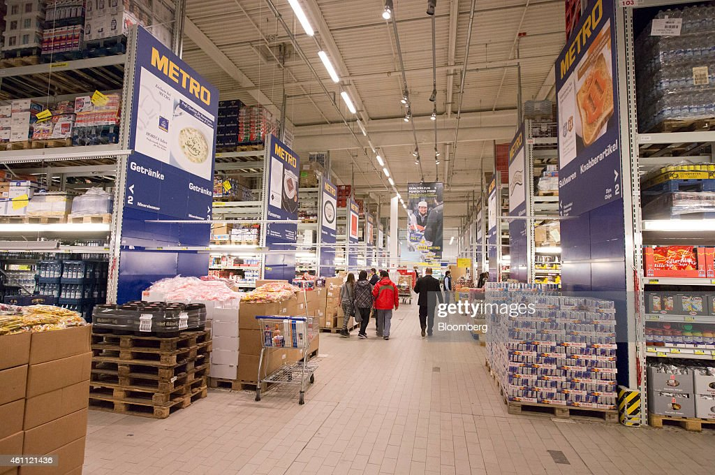 Retail Operations Inside A Metro AG Cash And Carry Wholesale Store ...