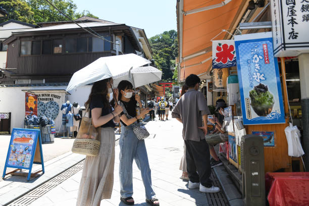 JPN: Enoshima Island Hosts Olympic Sailing as Japan's Covid Cases Hit Record