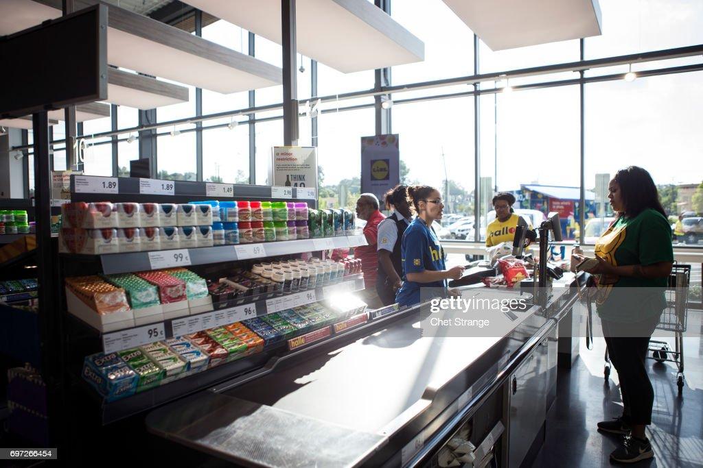 German Grocer Lidl Open Stores In U.S. : Nachrichtenfoto