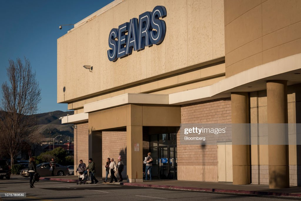 Sears Stores As Company May Stay Alive With Rescue Bid : News Photo