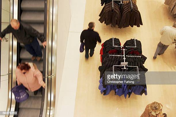 Customers flocked to the new Primark clothing store in Hull when it opened it's new flagship store on December 8th Hull England The low cost high...