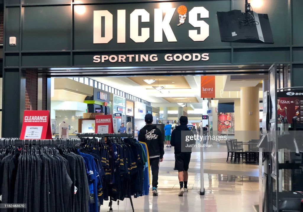Dicks Sporting Goods Earnings Beat Expectations Sending Stock Higher : News Photo