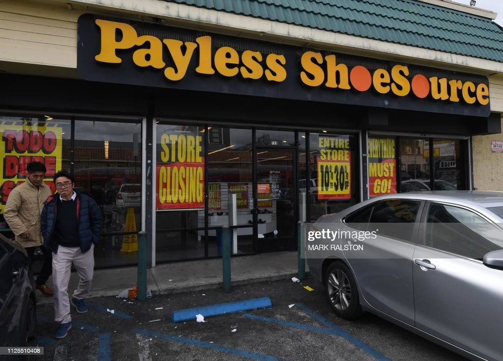 US-ECONOMY-PAYLESS_SHOES : News Photo