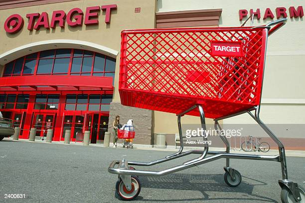Customers leave Target August 14 2003 in Springfield Virgina Target Corp reported a four percent increase in secondquarter profits